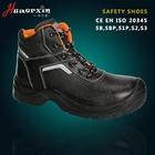 Composition Toe cap shoes high cut Safety shoes