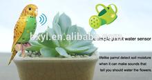 small plant moisture meter lifelike sing parrot