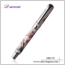 Custom advertising gift metal ballpoint pen ceramic pen