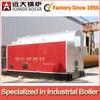 6 t/hr low pressure horizontal coal fired steam boiler