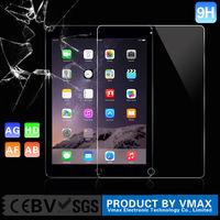 Free sample!0.33mm thickness for waterproof high clear tempered Glass screen protector for IPAD AIR 2 tablet