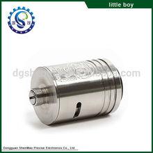 popular dry herb vaporizer exgo w3 e cig rba atomizer little boy rba clone atomizer little boy rba
