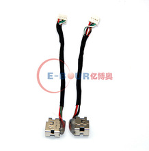 "OEM new laptop DC plug with cable For HP Envy 15 17"" EB397WW ebour007"