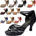 2014 nueva marca de zapatos de tacón alto de alta calidad de colores 11 zapatos de baile latino para damas/las mujeres sobre la venta
