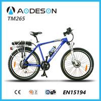 Environmental electric charging bike geared electric bike,mountain bicycle for sale bicicleta eletrica,en 15194