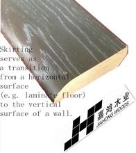laminate mdf traditional interior wall bases wood skirting