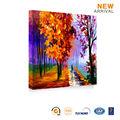 moderna casa de arte decoración otoño del paisaje forestal pintura