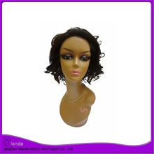 Wholesale Chinese virgin hair wig full lace wigs