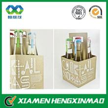 Custom cardboard wine carriers;portable wine carrier ;soft drinks carrier