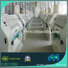 Turnkey plant projects wheat flour mill complete fully stainless steel wheat milling&grinding