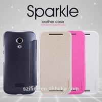 Nillkin For MOTO G(MOTO G2) Sparkle Leather Case