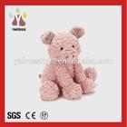 Factory direct custom cute plush toy pig peppa pig costume