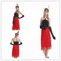 China Supplier Instyles Ladies 1920s Flapper Costume Halloween Fancy Dress Costume