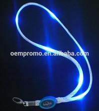 LED Flashing Lanyards, LED Glowing Lanyards, Promotional light up lanyards