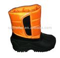 Lady velcro étanche. hiver, bottes, chaussures femmes militaires bottes d'hiver de neige