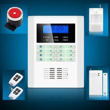 Wireless Quad Band GSM PSTN Home House Security Alarm Burglar Auto Dialer System