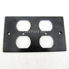 YY-AUDIO High Performance USA Four aluminium alloy plate for power socket