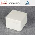 antique branco quadrado caixa de papelão para o chapéu
