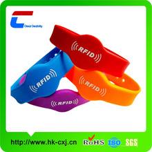 HF colorful sillicone wrist band
