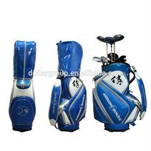 Custom High Quality PU Waterproof Golf Bag (SNF-10212)