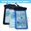 Fashion Portable Safe Eco-friendly PVC IPX8 Waterproof With ABS Clip Custom Logo Bag For iPhone 6 P5529-H58