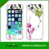 custom vinyl skin for iphone5, waterproof skin for iphone 5