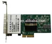 Gigabit Network Interface card, 1G Server Adapter Card , Quad SFP Slot connector
