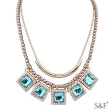 110689 Zircon Fine Jewelry fancy jewelry necklace