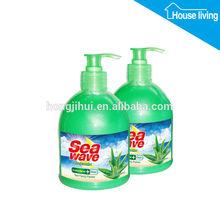 Hot Sale 500ml Brand Aloe Hand Wash Soap Liquid Used In Hospital