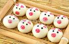 2015 Hot-sale Lovely Pig Face Frozen Steamed Bun