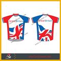 profesional oem de deportes de la mujer de impresión de sublimación de diseño personalizado de ciclismo jersey