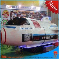 Xindy best selling market product amusement park 5d roller coaster simulator