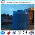 rotación tanque de agua de plástico de almacenamiento, tanque de agua de polietileno