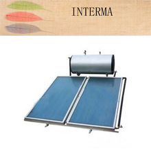 haining intergated flat panel solar water heater stainless steel pressurizedsolarwater heater