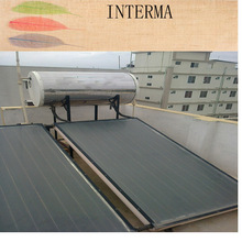 jiaxing intergated flat panel solar water heater stainless steel pressurizedsolarwater heater