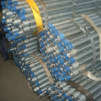 galvanized I pipe BS 1387 BSEN 10255 class B ASTM A500 GrA B C welded and seamless carbon steel pipe ASTM A53 ASTM A106 GrB