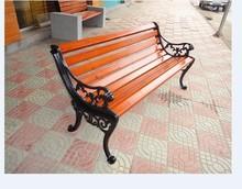 Comfortable outdoor long bench cheap park bench seat