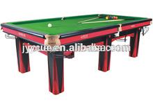 Hot Design Solid Wood Star Snooker Table for bench belt grinder