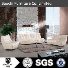 Baoch italy leather sofa factory,custom made wood furniture,density sponge 725#