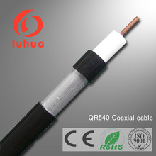 75 ohms coaxial cable QR540 trunk cable JCAM cable trunking for CCTV CATV TV in communication with CE RoHS ISO9001 approved