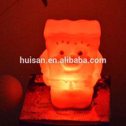 new style lovely spongebob night light/animal led night light for kids entertainment