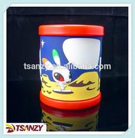 3D cartoon rabbit pvc mug for kids