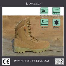 ของแท้loveslfกลางแจ้งยุทธวิธีรองเท้าสไตมีซิปศิลปะเบาเต็มหนังรองเท้าต่อสู้uของsของเอฟบีไอพิเศษ