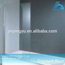 AQOC1501CL 6mm tempered glass bath shower screens