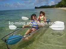 China Manufacturer Clear Plastic Fish Canoe Kayak