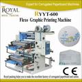 Ryyt-600 2 - 4 cores Flexo gráficos máquina de impressão