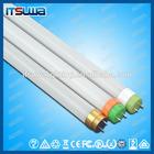 Aluminum alloy body and pc cover 1200mm 18w 4 feet led tube light