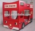 Kind rot auto etagenbett für kinder auto Etagenbett/kinder bus etagenbett möbel