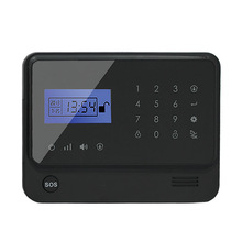 Hot new products Smart Home gsm+wifi dual network burglar alarm system with IP camera ! GPRS home alarm system with APP+RFID