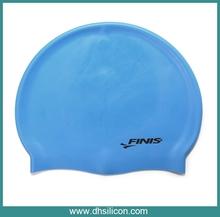 High quality Soft silicon swim caps / silicone swimming cap